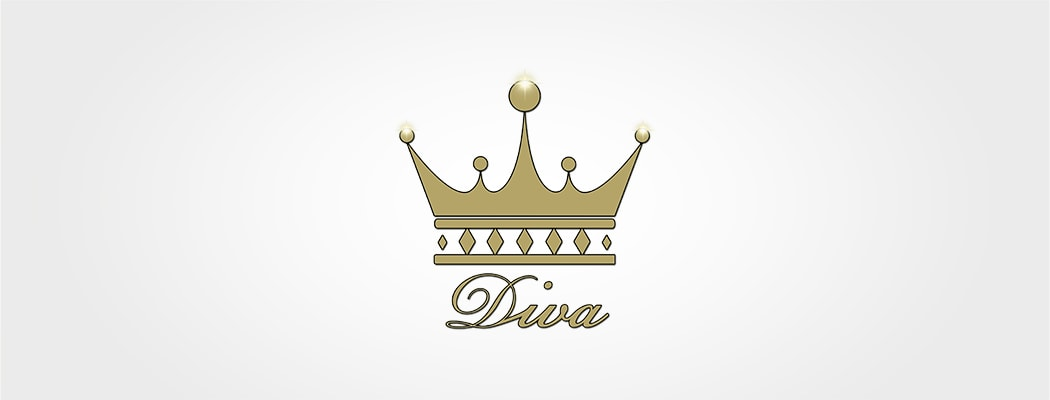 Logodesign für DIVA - First & Secondhand