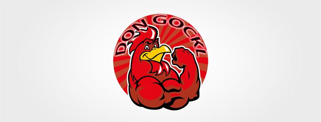Logodesign für Don Gockl
