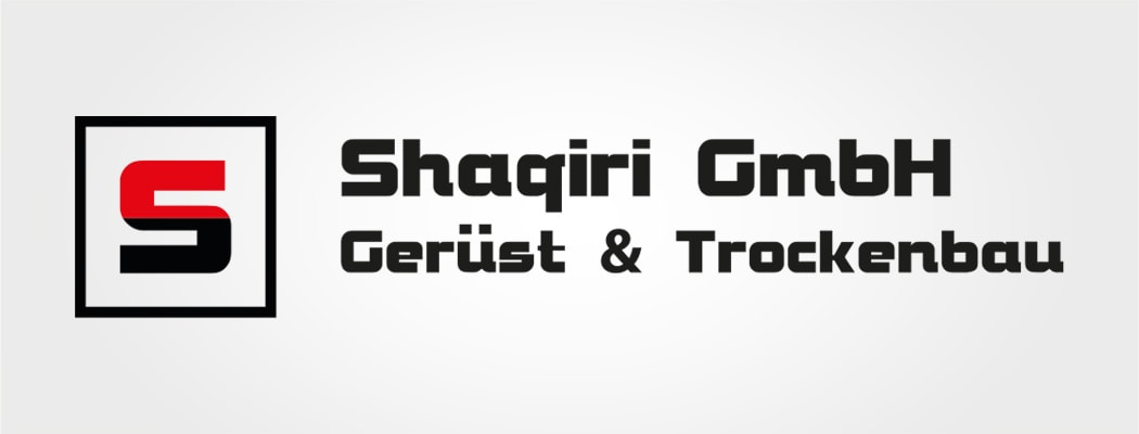 Logodesign für Shaqiri GmbH