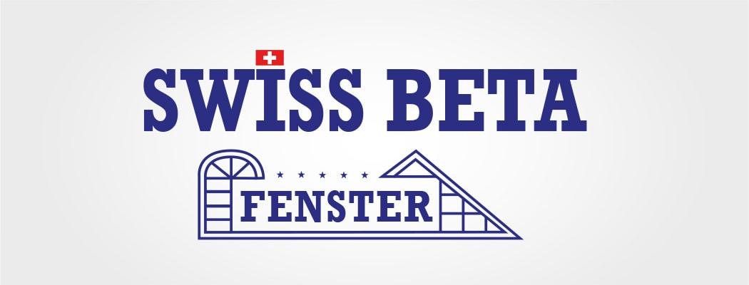 Logodesign für Swiss Beta Fenster